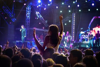 artiste en concert